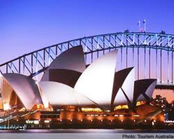 Sydney Opera House comp. won