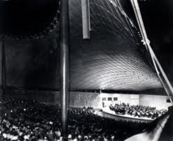 Opening of the Sidney Myer Music Bowl