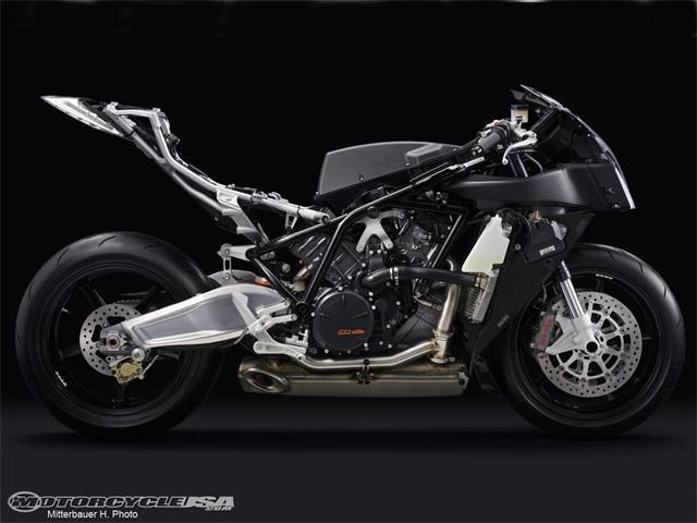 Frameless Motorcycle