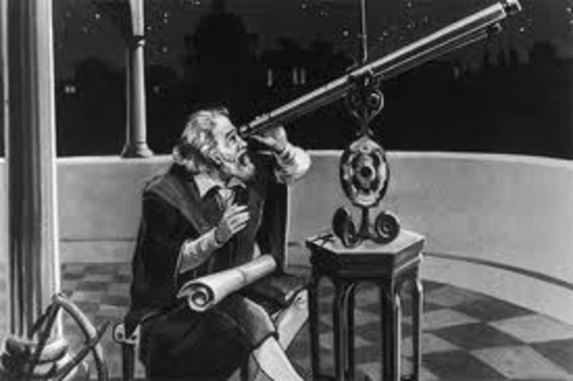 frist observed by galileo