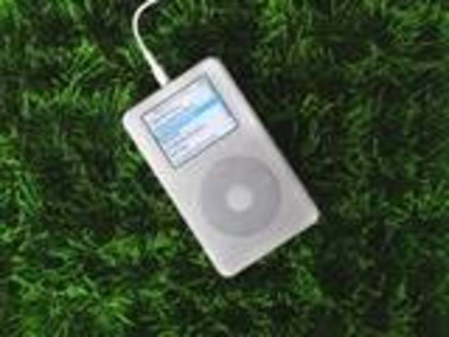 The MP3 player was invented