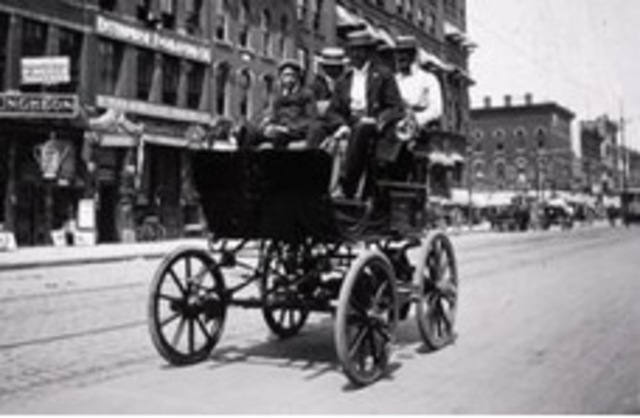 The First Electric Car
