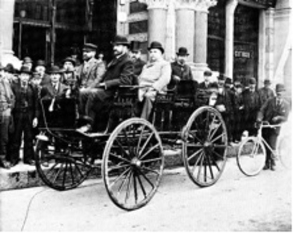 The First Rechargeable Electric Car