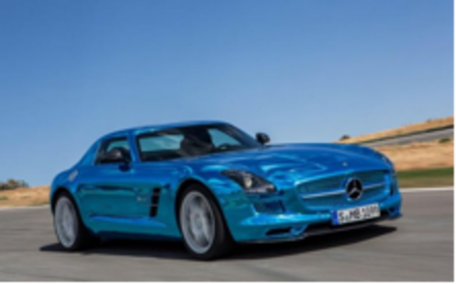 The Modern Electric Car-The Mercedes SLS Electric Drive