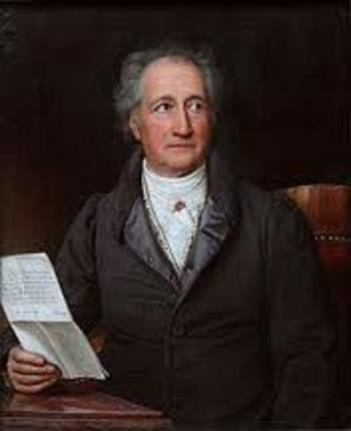 Johann Wolfgang von Goethe (1749–1832)