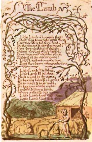 Blake Begins To write Poetical Sketches