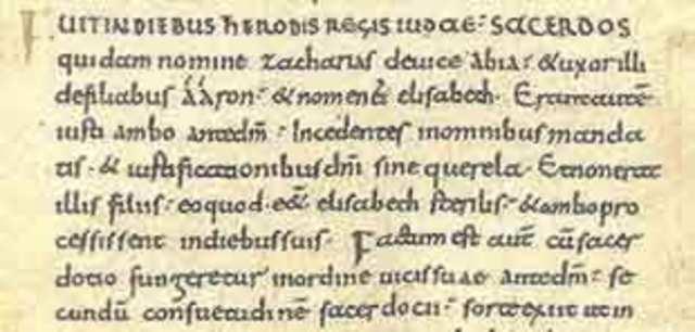 Escritura Carolina o Carolingia