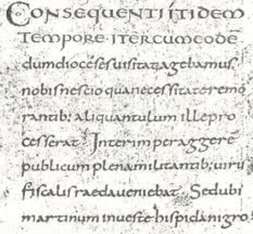 Escrituras Precarolinas