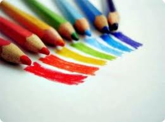 Colored Pencils Were Invented