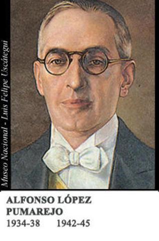 Alfonso López Pumarejo (1er Periódo)