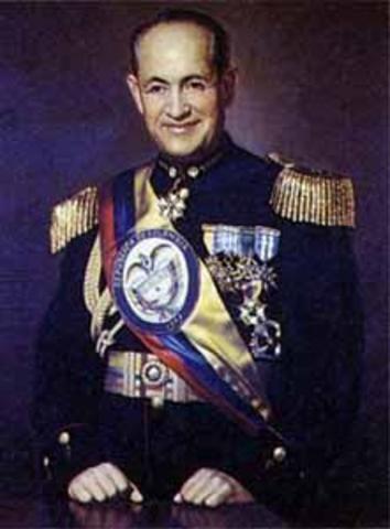 Teniente general Gustavo Rojas Pinilla