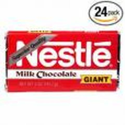 milk chocolate by peter and henry nestle