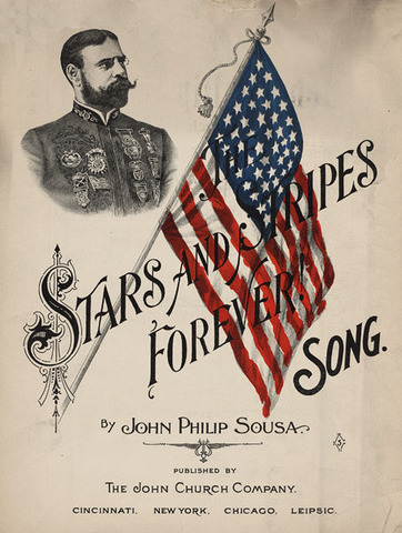 Sousa composes Stars and Stripes Forever