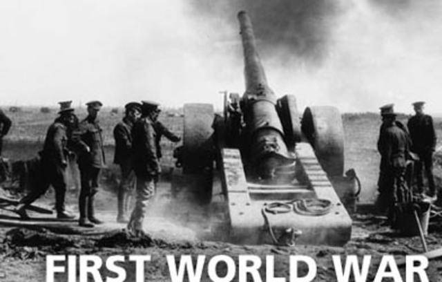 World War I breaks out