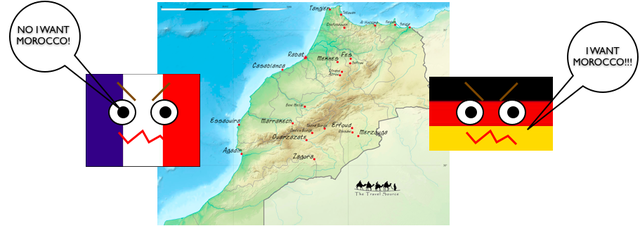 Conflicts Over Morocco