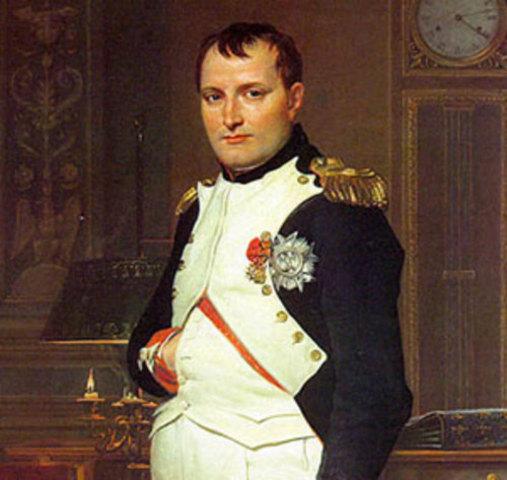 Comineza la ascenso de Napoleón.