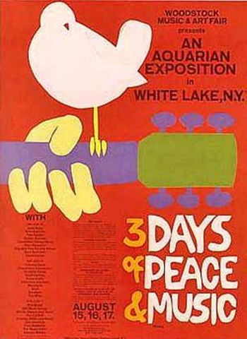 the beginning of woodstock