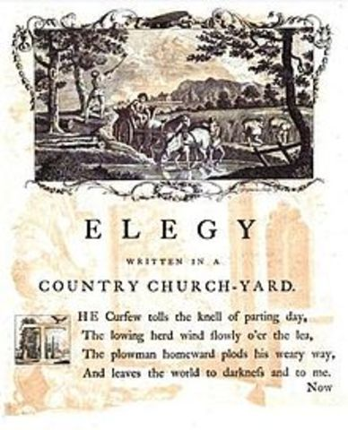 """Elegy Written in a Country Churchyard"""
