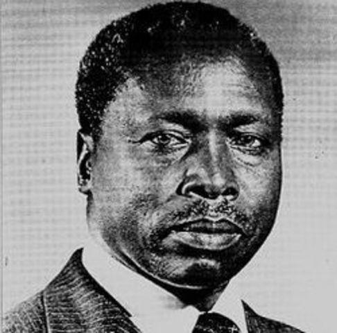 Daniel arap Moi takes power as president