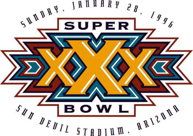 Super Bowl XXX Steelers LOST