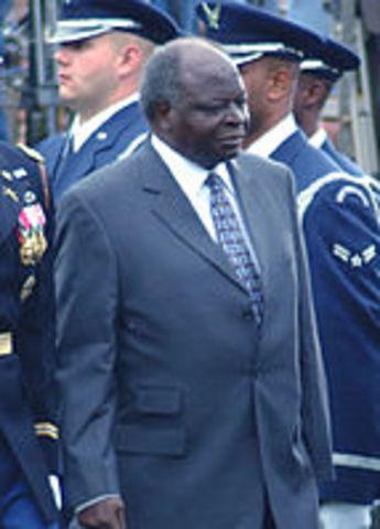 Kibaki declared President