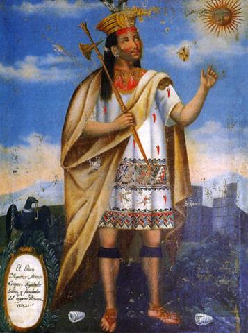 Inca Empire founded