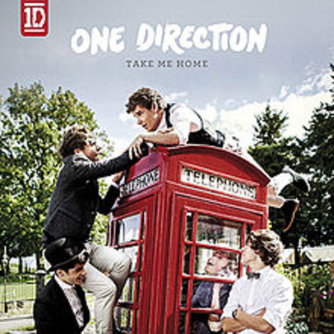 One Direction release their second album, 'Take Me Home'