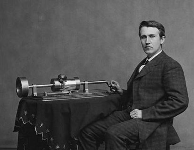 Thomas Edison, First Recording ever
