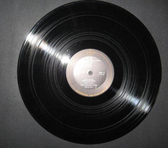 LP record introduced