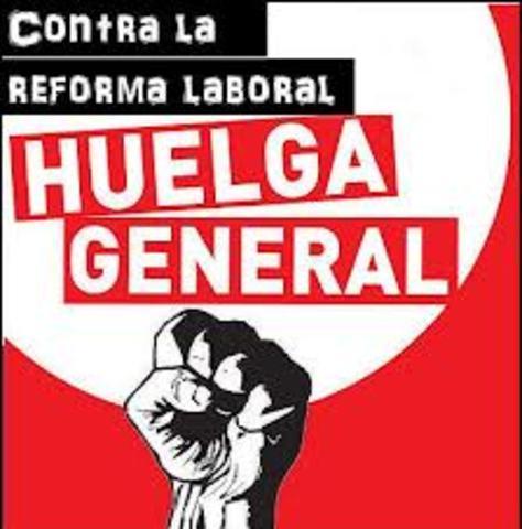 Fracaso de la huelga general