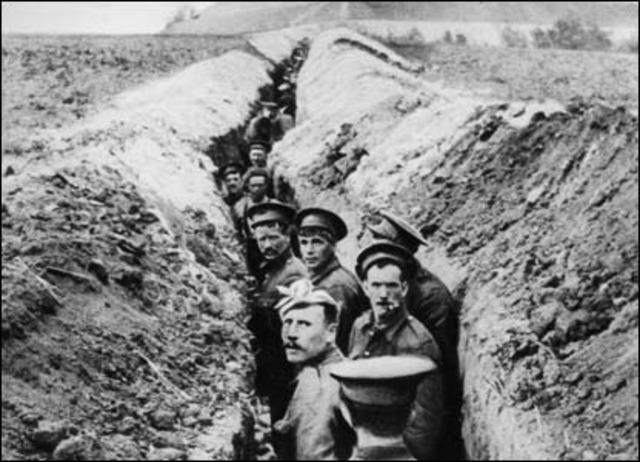 U.S. Enters World War I
