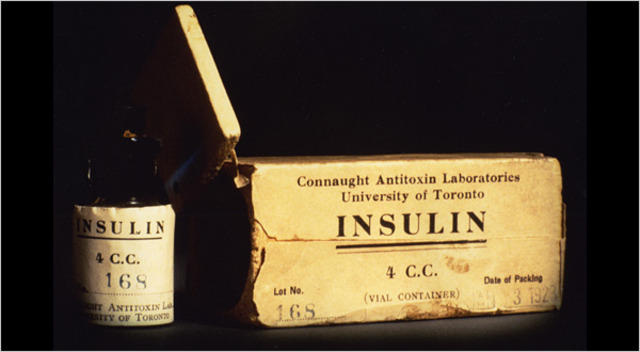 Insulin Discovered