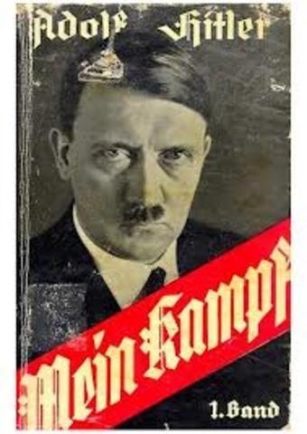 Mein Kampf Pubished