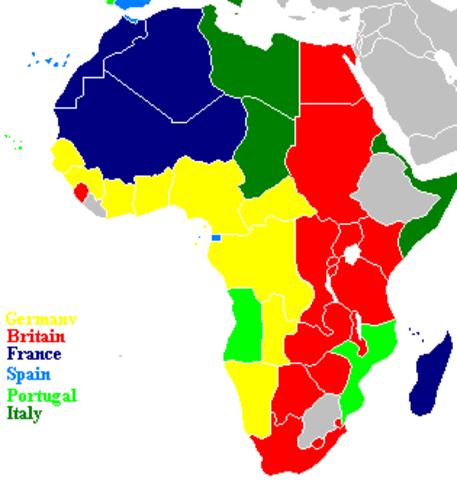 British Acquires Eastern Coastline of Africa