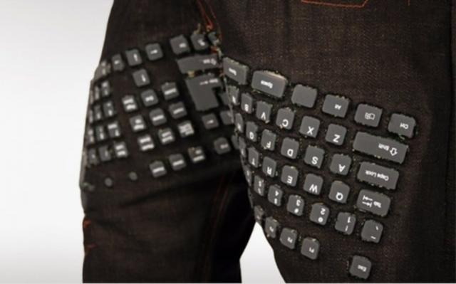 Το πρώτο παντελόνι με πληκτρολόγιο