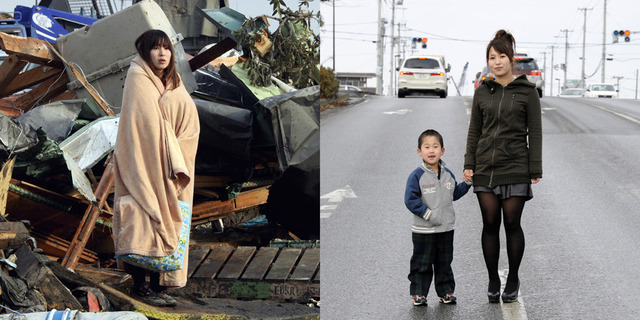 japan before and after
