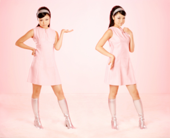 1960's fashion.