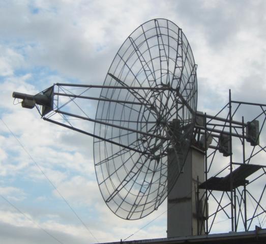 Η χρήση της Σελήνης ως παθητικό δορυφορικές επικοινωνίες