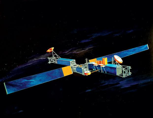 Ο πρώτος δορυφόρος