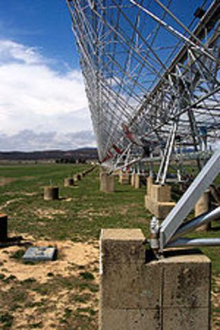 Τοποθέτηση ραδιοτηλεσκοπίων
