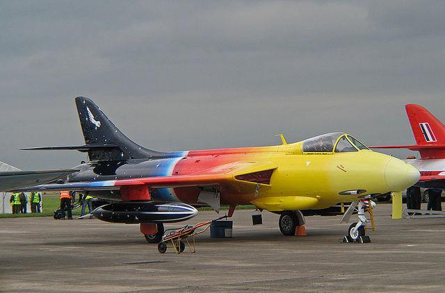 Hawker Hunter   Maxhtik;o aeropl;ano