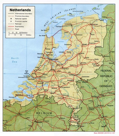 Inherits the Netherlands