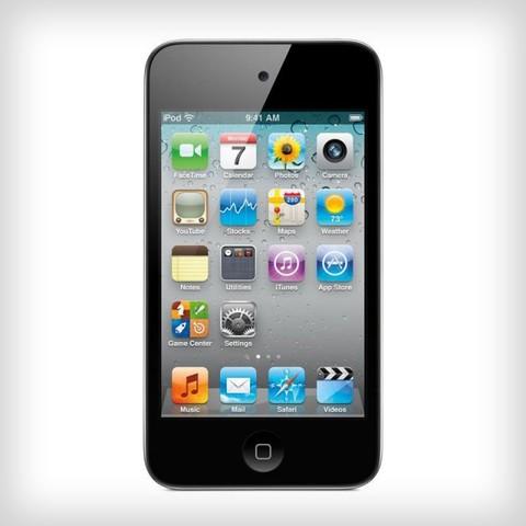 εμφανιση του ipod touch