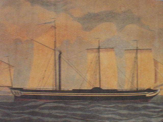 Το πρώτο ατμοκίνητο πολεμικό πλοίο