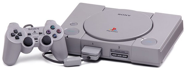 The original PlayStation released