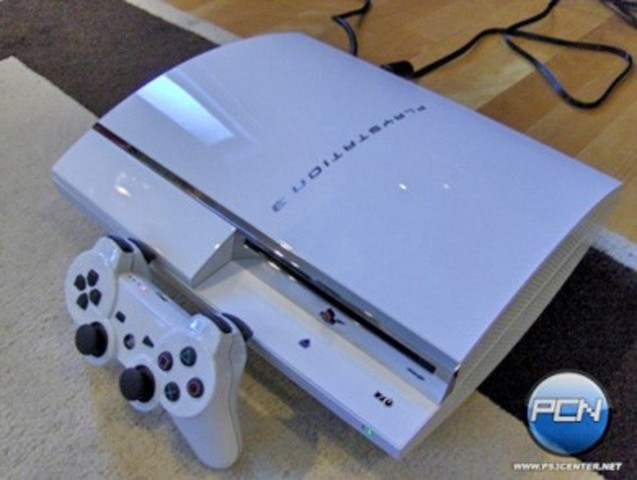 The redesigned model of the PlayStation 3