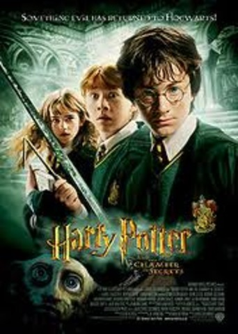 Harry Potter and the Chamber of Secrets movie release.