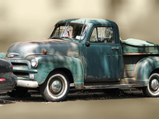 The 1950s Chevys were out of style
