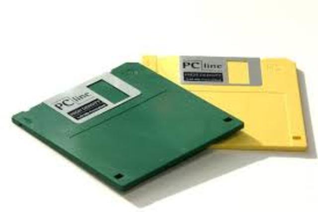 Floppy Disk Invented