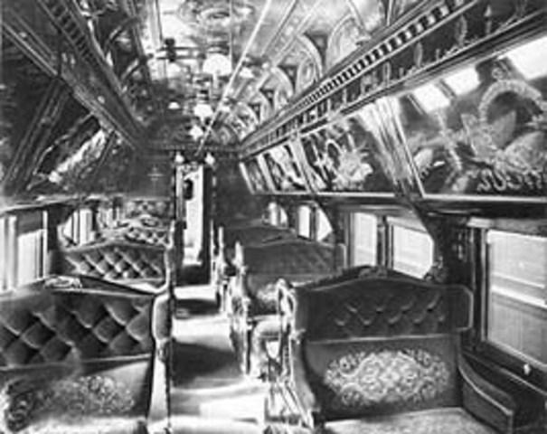 Sleeping Train Car